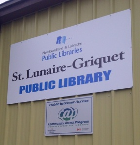 St. Lunaire-Griquet Library Closure