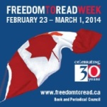 Freedom to Read Week 2014 Logo
