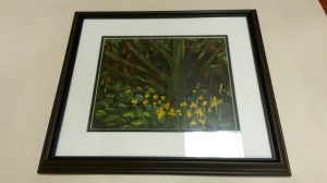Original framed painting by local artist Owen Whelan