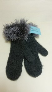 Handmade felt mittens from Knittin' Mitten Momma