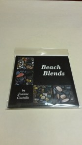 Package of 4 Beach Blends Notecards (blank inside) reproduced from original artwork by Joanne Costello