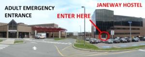 Janeway Resource Centre, Janeway Hostel