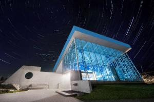 the-geo-centre-at-night