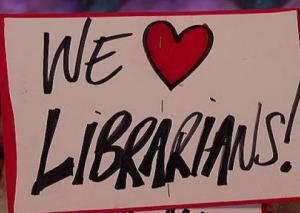 We love librarians