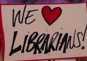 We love librarians