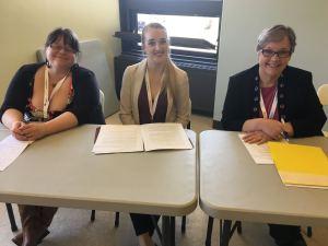 Kate Shore, Courtney Penney, & Beth Maddigan