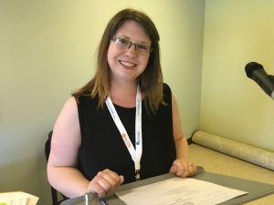 outgoing President Amanda Tiller-Hackett